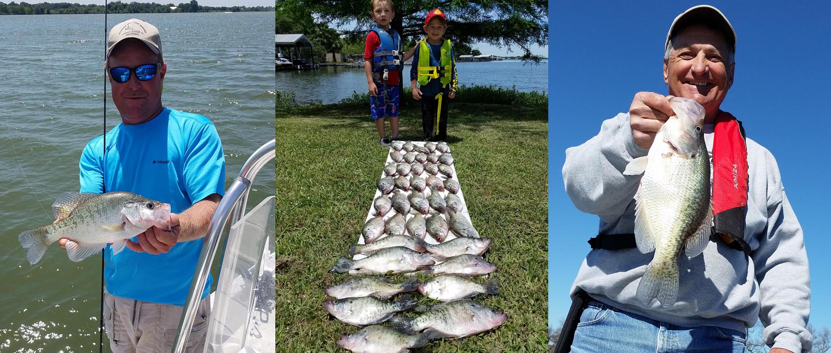 Texas crappie fishing service crappie fishing guide for Crappie fishing texas